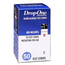 DropOne vércukor tesztcsík 50db