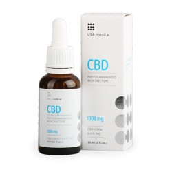 USA medical - 30 ml CBD olaj (1000 mg )