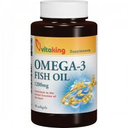 Omega-3 1200 mg  (90 gélkapszula)