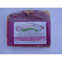 Argánolajos rózsa szappan  (110 g)