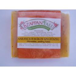 Narancs szegfűszeg mák szappan (110 g)