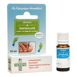 Aromax Teafaolajos köröm- és lábáoló ecsetelő 10ml.