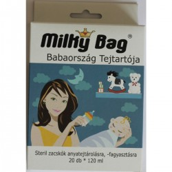 Milky Bag - tejgyűjtő zacskó, steril (20 db, 120 ml)