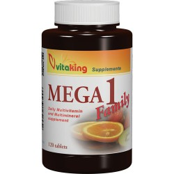 Vitaking Mega 1 Family - Multivitamin  (120 tabletta)