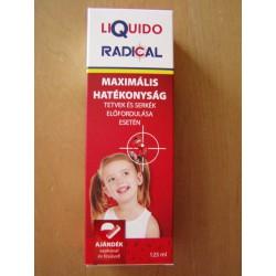 Liquido Radical 125ml, tetvek és serkék ellen