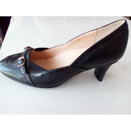 Scholl Be Gorgeus női alkalmi cipő fekete, KIFUTÓ Gyógysarok