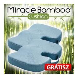 Miracle Bamboo kényelmi ülőpárna 1+1 AKCIÓ!