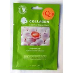 Arcmaszk (szövetfátyol) kollagén+Q10 1db SZUPER ÁR!