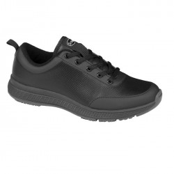Scholl Energy Plus -  fekete férfi cipő